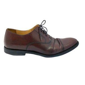 Johnston & Murphy (10) Brown Leather Men's Oxfords